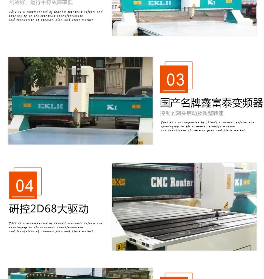 K1-1325高速廣告雕刻機功能