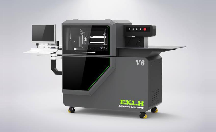 屹克联合V6弯字机