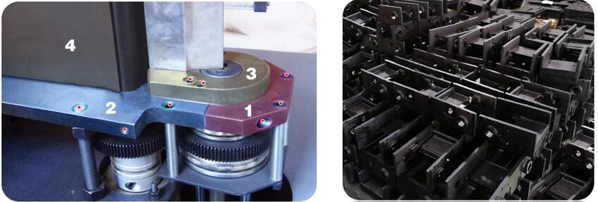 EKLH-V6全自动弯字机一体构造