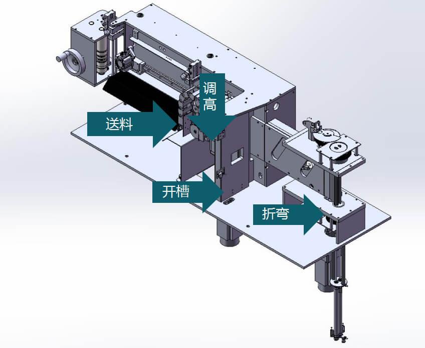 EKLH-V6全自动弯字机结构