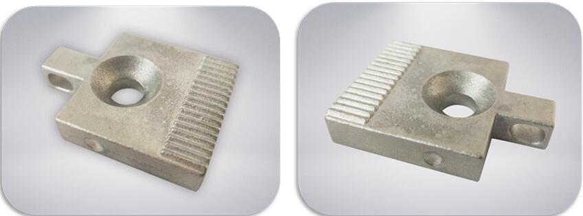 EKLH-V6全自动弯字机料夹铸件