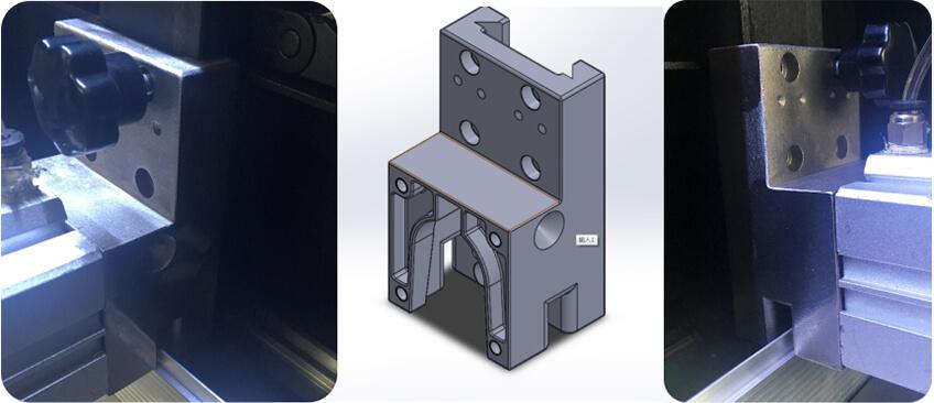EKLH-V6全自动弯字机机械手铸件